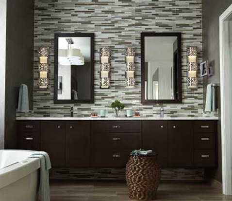 Bathroom Lighting Sconces wall sconces Use Layers Of Light I Prefer To Utilize Multiple Kinds Of Lighting In The Bath The Look Of A Beautiful Wall Mounted Sconce Keeps The Bathroom Classic And