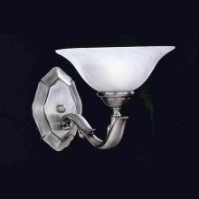 Crystorama 551-PW - Crystorama 1 Light Pewter Sconce