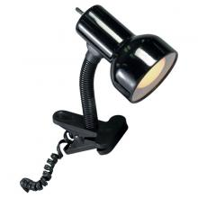 Satco Products Inc. SF76/226 - Clip On Goose Neck Lamp; Steel; Black Finish