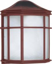 "Nuvo 60/538 - 1 Light 10"" Cage Lantern Wall"