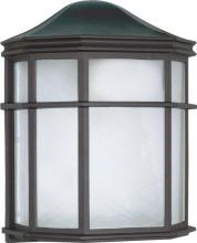 "Nuvo 60/539 - 1 Light 10"" Cage Lantern Wall"