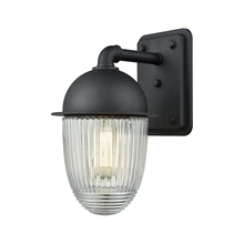 ELK Lighting 45251/1 - Channing 1 Light Outdoor Wall Sconce In Matte Bl
