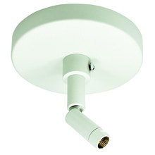 Nora NT-349W - Sloped Ceiling Adapter, White