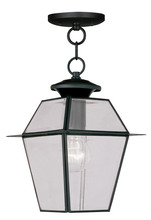 Livex Lighting 2183-04 - 1 Light Black Outdoor Chain Lantern