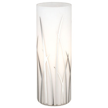Eglo 92743A - 1x60W Table Lamp w/ Chrome Finish & White & Chrome D�cor
