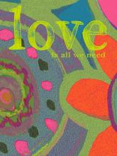 "Style Craft DW32200DS - ""love"" wall decor"
