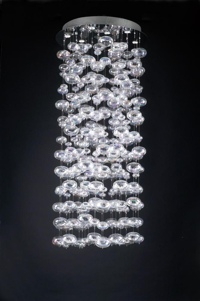 Plc 18 light chandelier bubbles collection 96997 pc 96997 pc the plc 18 light chandelier bubbles collection 96997 pc aloadofball Image collections