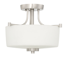 Craftmade 43553-BNK - Clarendon 3 Light Semi Flush in Brushed Polished Nickel