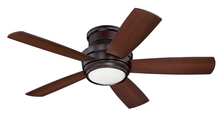 "Craftmade TMPH44OB5 - Tempo 44"" Hugger Ceiling Fan with Blades and LED Light Kit in Oiled Bronze"