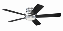 "Craftmade TMPH52CH5 - Tempo 52"" Hugger Ceiling Fan with Blades and LED Light Kit in Chrome"