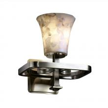 Justice Design Group ALR-8561-10-NCKL - Arcadia 1-Light Wall Sconce