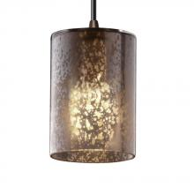 Justice Design Group FSN-8815-10-DROP-ABRS - Mini 1-Light Pendant