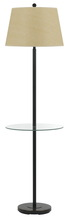 "CAL Lighting BO-2077GT-DB - 60"" Height Metal Floor Lamp In Dark Bronze"