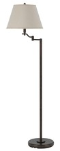 "CAL Lighting BO-2350FL-RU - 60"" Height Metal Floor Lamp In Rust"