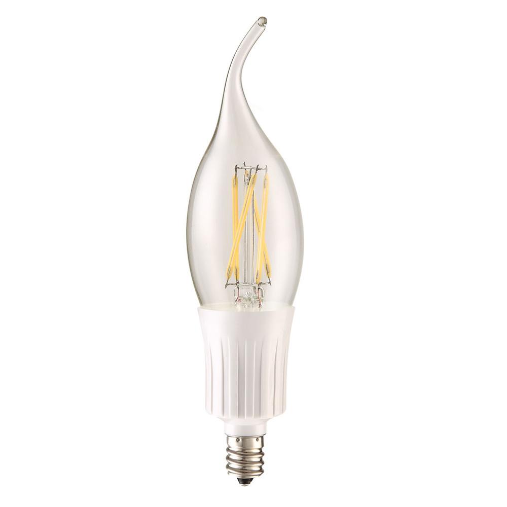 Led C35t 120v 4w 4100k 400lm 360e12 Dim Chrome E12f 4 D 41 C Fluorescent Lamp Driver