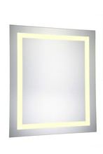 "Elegant MRE-6011 - LED Electric Mirror Rectangle W20""H30"" Dimmable 3000K"