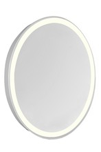 "Elegant MRE-6116 - LED Edge Electric Mirror Oval W21""H28"" Dimmable 3000K"