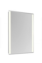 "Elegant MRE-6202 - 2 Sides LED Edge Electric Mirror Rectangle W20""H40"" Dimmable 5000K"