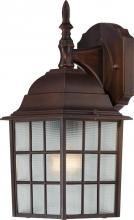 "Nuvo 60/4905 - Adams 1 Light 14"" Outoor Wall"