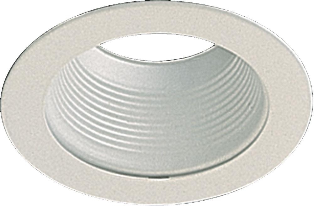 "5"" STEPPED BAFFLE - WH"