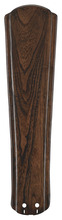 "Fanimation B6110WA - 26"" RAISED CONTOUR CARVED WOOD BLADE SET: WALNUT - SET"