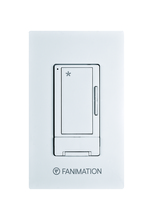 Fanimation WR500WH - Wall Control with Receiver - 3 fan Speeds - WH