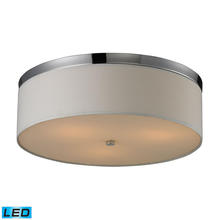ELK Lighting 11445/3-LED - Flushmounts 3 Light LED Flushmount In Polished C