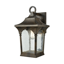 ELK Lighting 45046/1 - Loringdale 1 Light Outdoor Wall Sconce In Hazeln