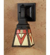 "Meyda Tiffany 48177 - 5""W Otero Mission Wall Sconce"